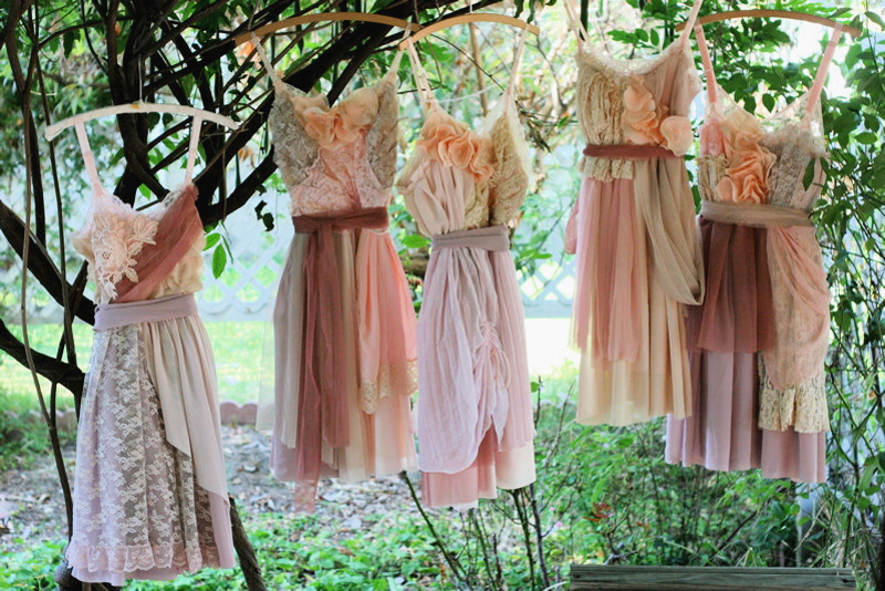10-Custom Bridesmaids Dresses