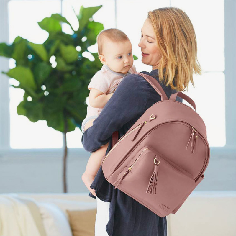 10-Simply Chic Diaper Backpack