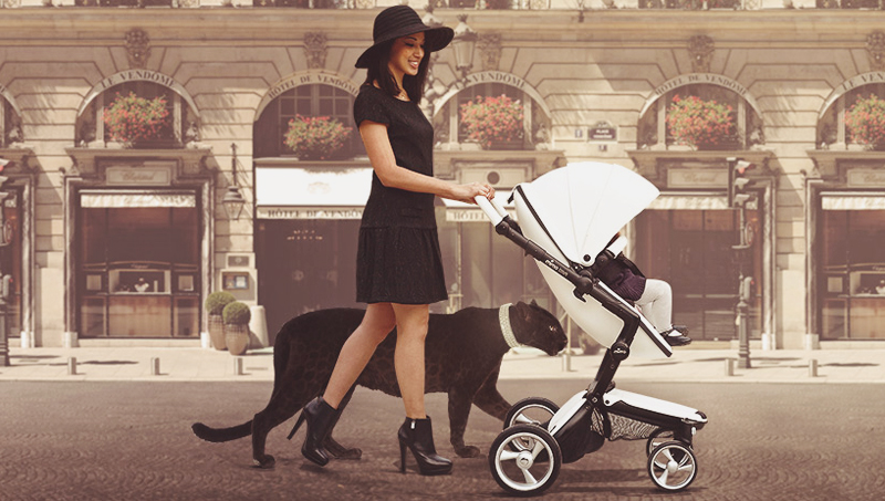 15-Xari Black Chassis Stroller