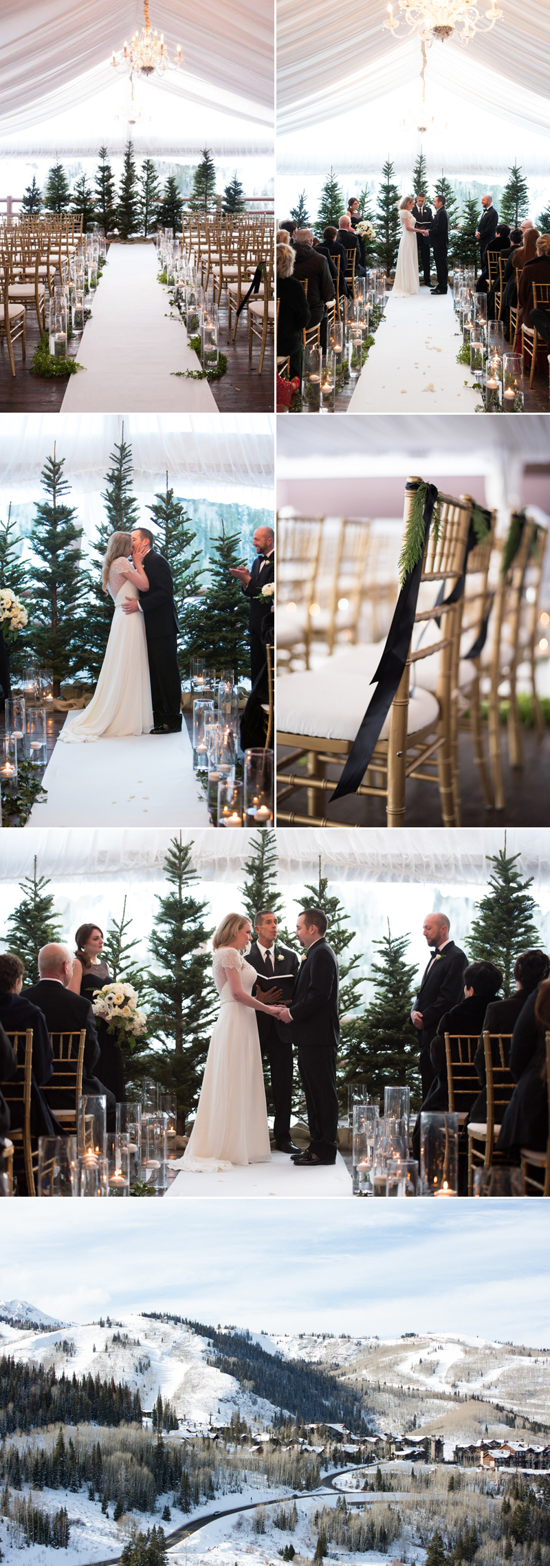 christmas04-Evergreen Forest Winter Wedding (Melissa Kelsey Photography)
