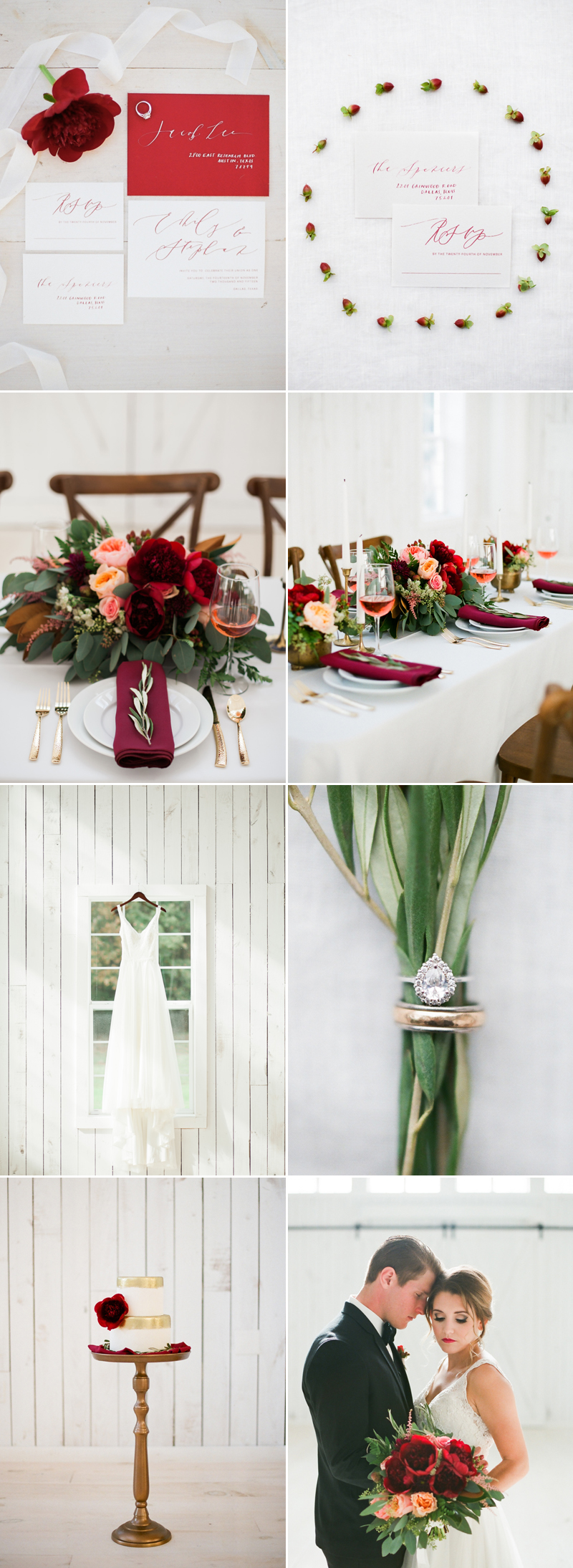 christmas06-Elegant White Barn Elopement (photo by Emilie Anne Photography)