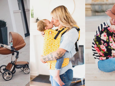 15 Stylish and Totally Functional Chic Mom Baby Gear!