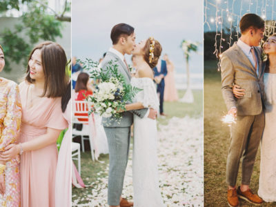 A Destination Island Wedding Overflowing With Organic Elegance