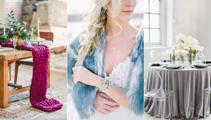 Colors of the Season! Top 7 Sophisticated Winter Wedding Color Themes We Love!