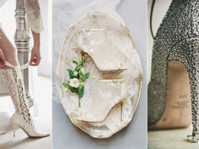5 Hottest Wedding Shoe Trends for Winter Brides!