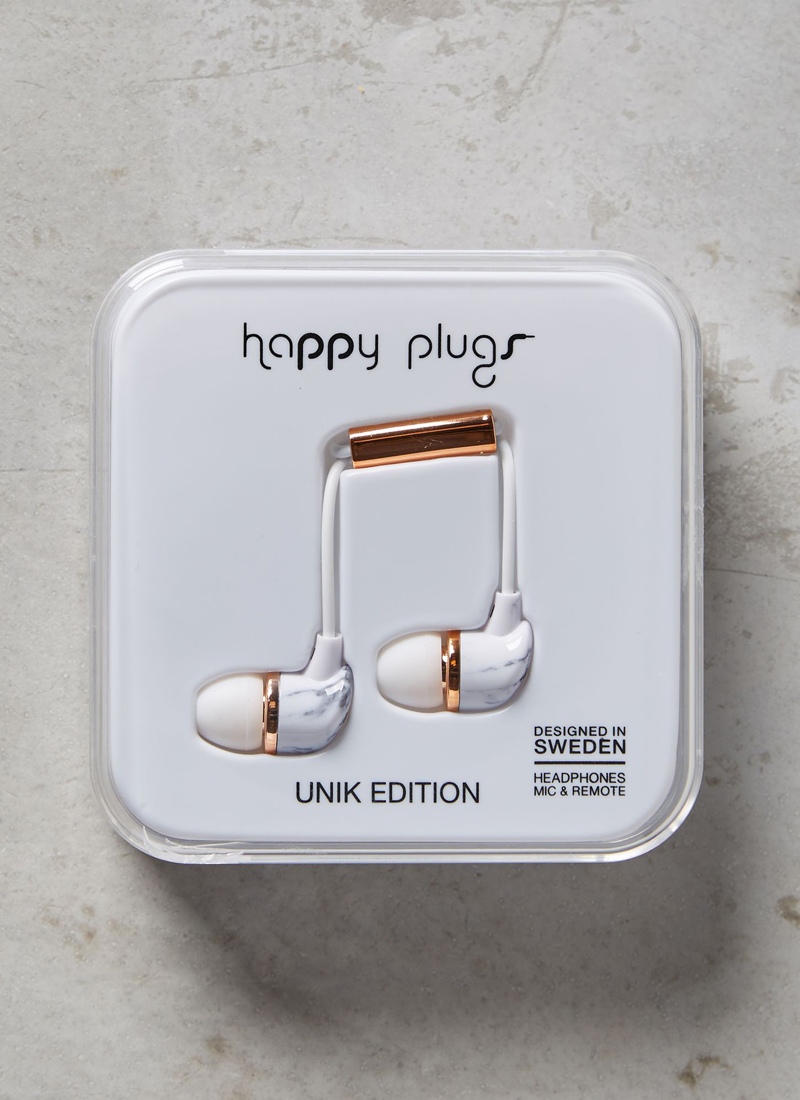 04-Happy Plug Marbled Earbuds