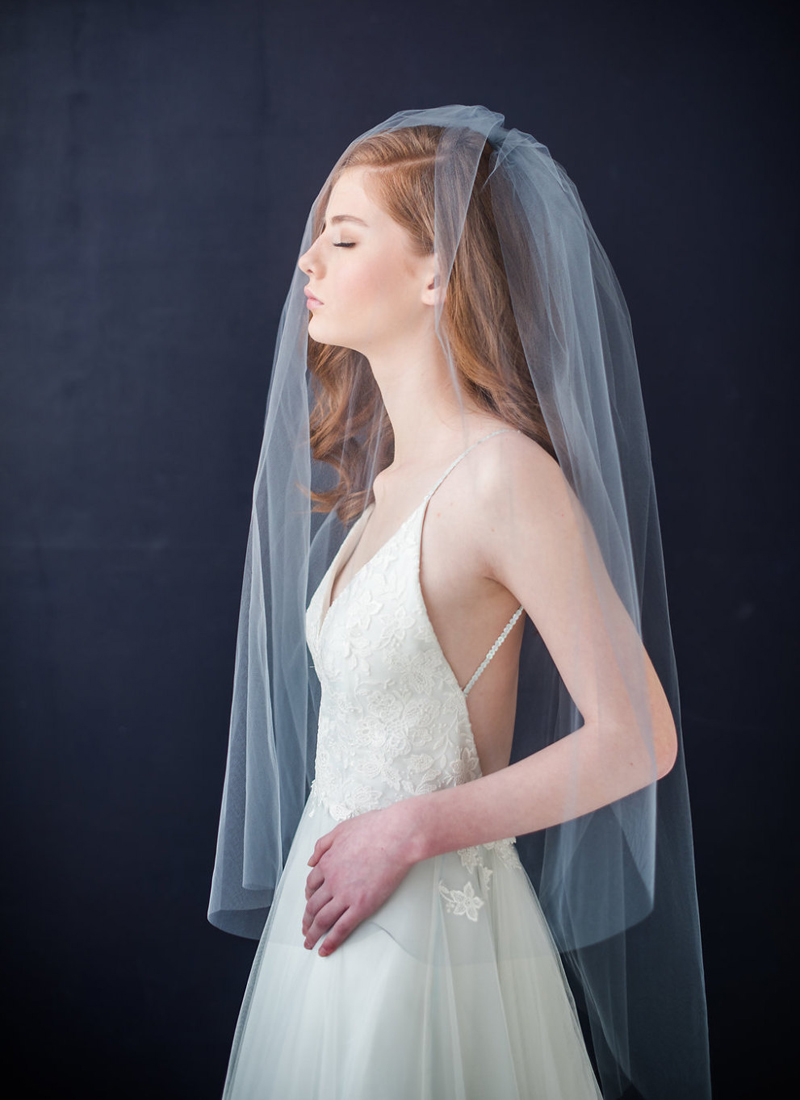 07-Double Tier Veil With Extra Long Blusher