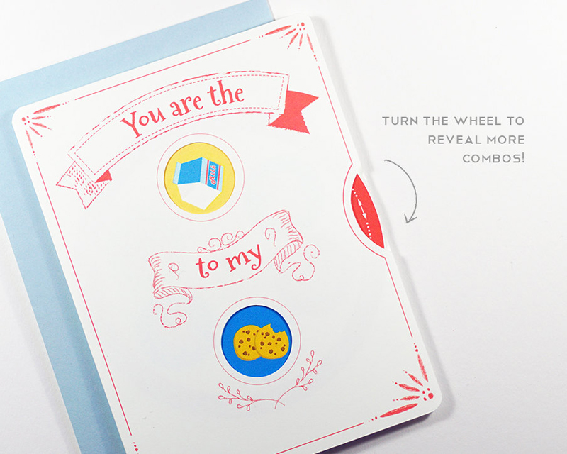 07-Interactive We Go Together Valentine Card