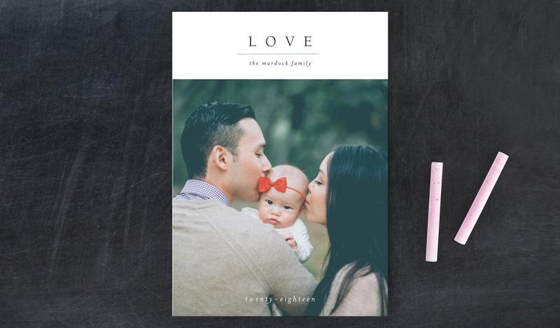 09-Minimal Joy Valentine's Day Petite Cards