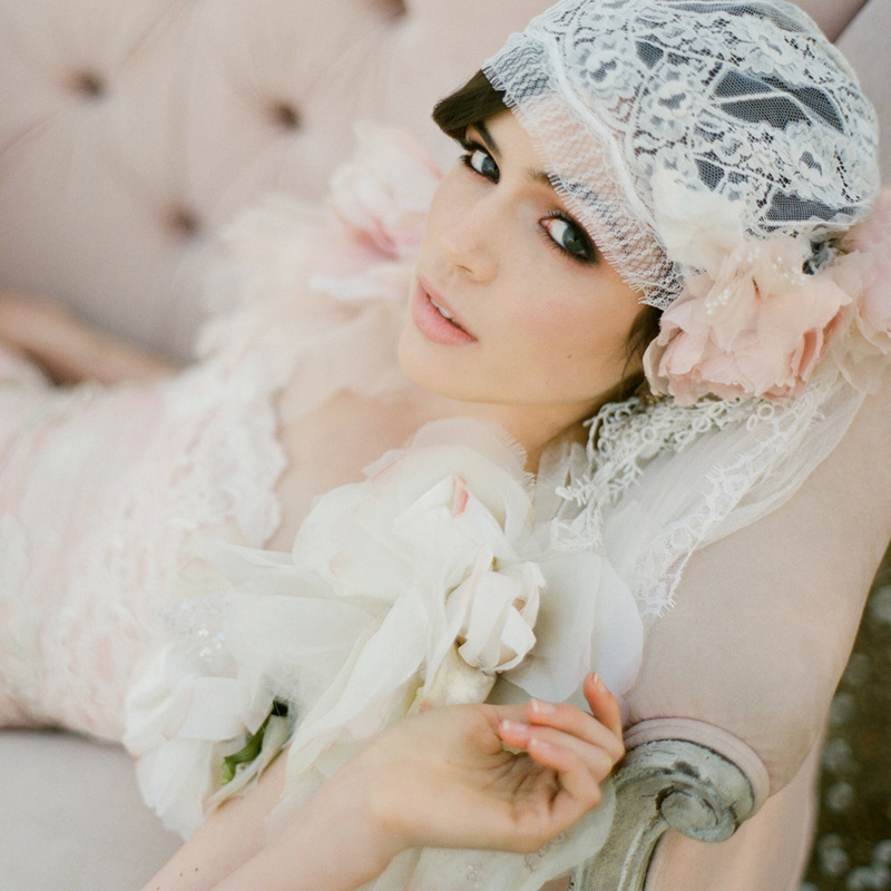 13-Chantilly Lace Juliet Cap