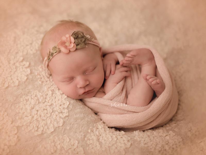 22-Rose Baby Headband