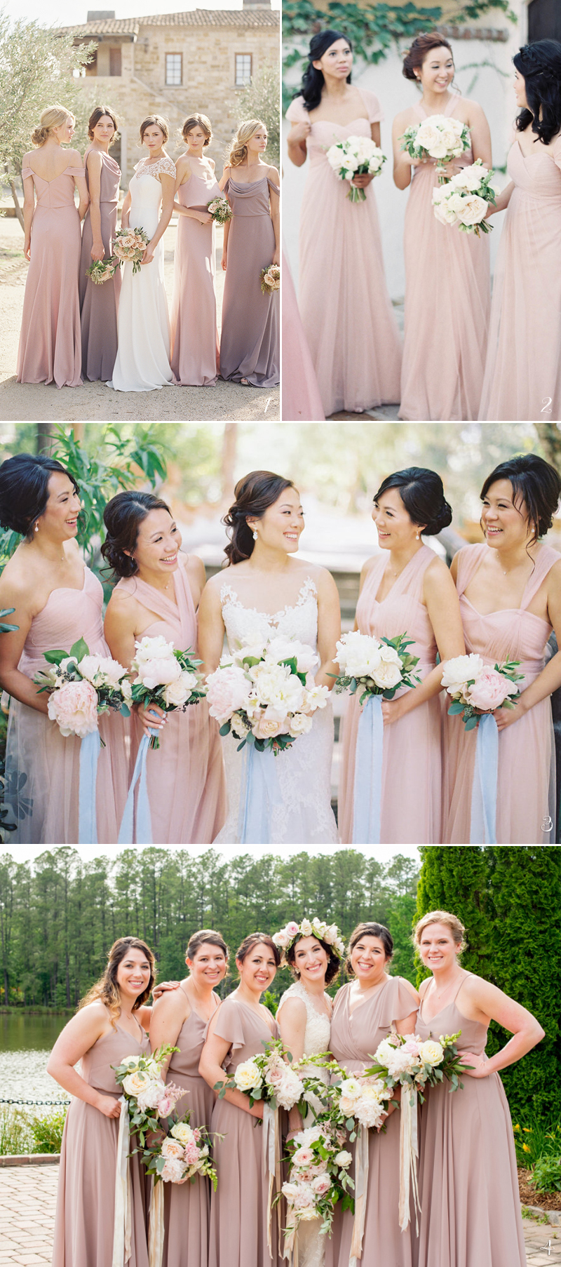 Trend Report 5 Best Bridesmaid Dress Colors For Spring 2018