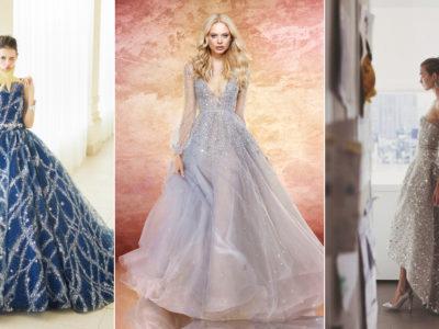 20 Magical Celestial Wedding Dresses For Star-Crossed Brides!