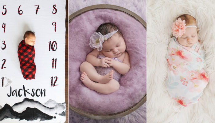 21 Adorable Newborn Baby Photography Props!