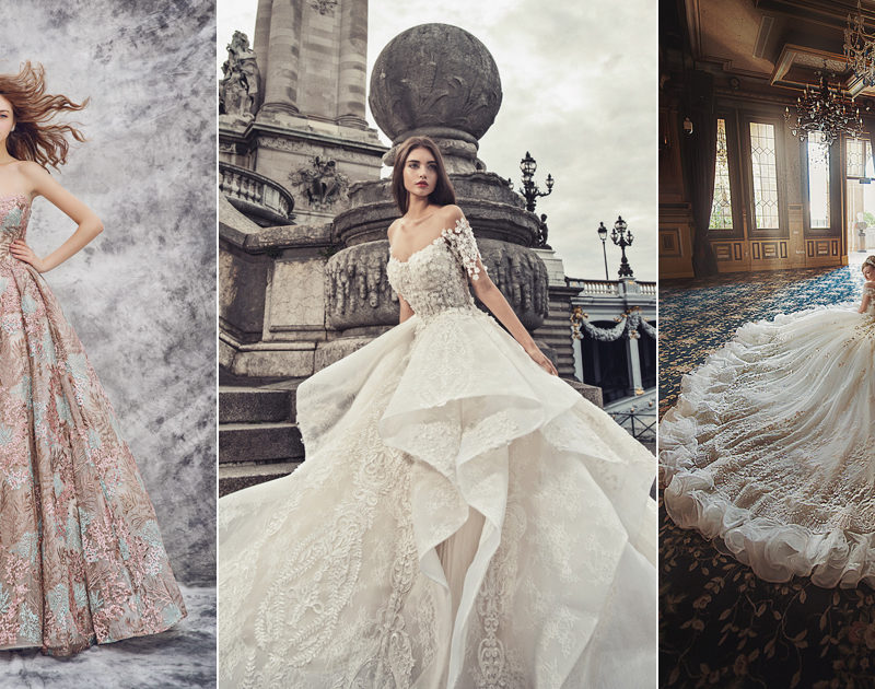 17 Statement Wedding Dresses With Beautiful Details!