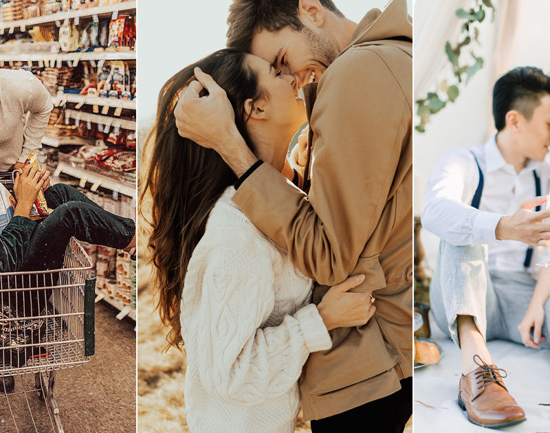 17 Utterly Romantic Engagement Photos To Swoon Over on Valentine's Day!