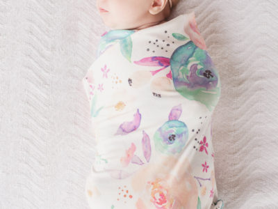 Bloom Knit Swaddle Blanket