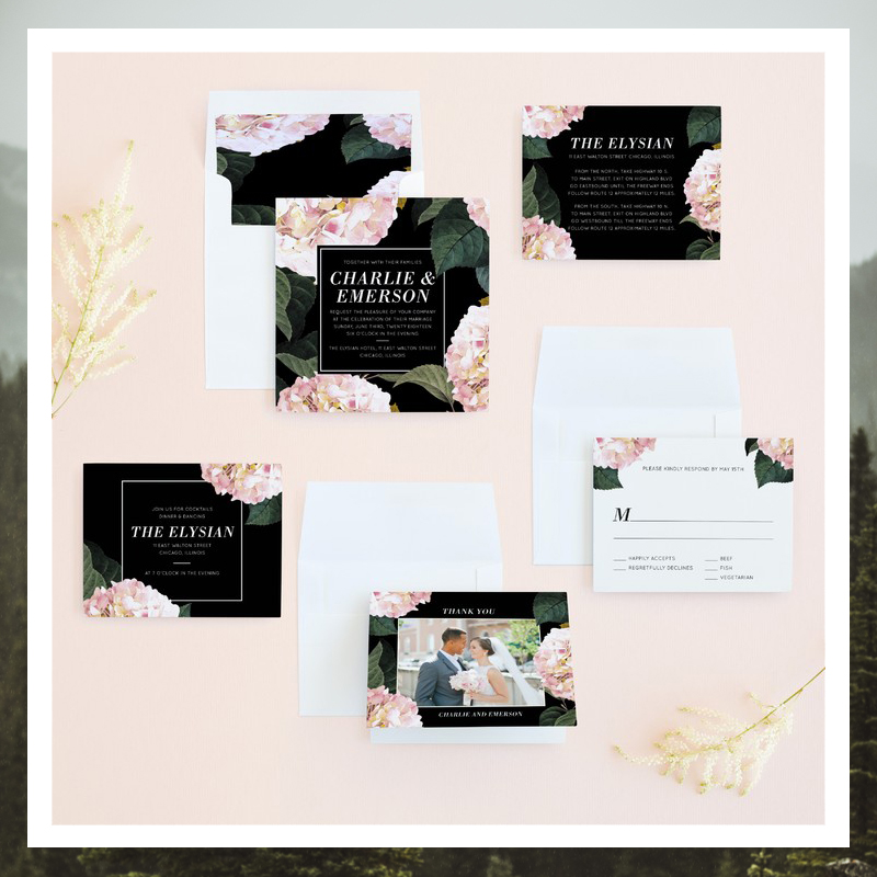 04-Peony Party Wedding Invitation