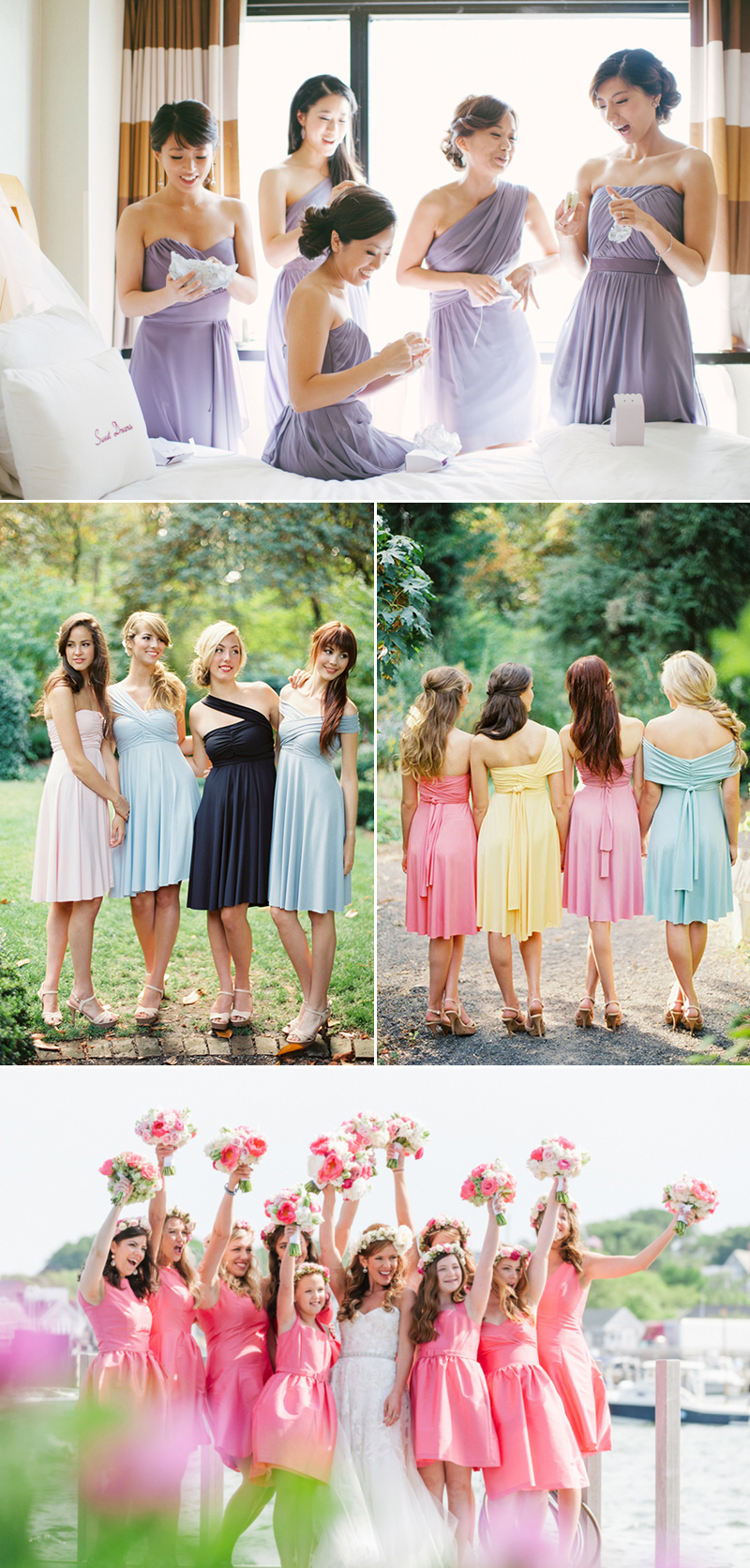 The best spot for all things bridesmaid and more dessy one stop credits left to right from the top brklyn view photography dessy dessy zofia co ombrellifo Image collections