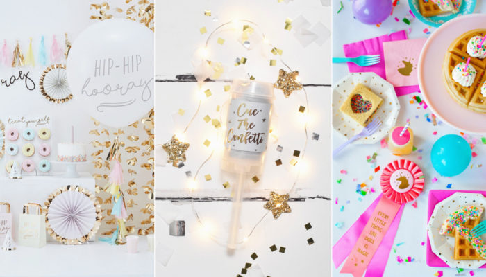 6 Best Places to Find Chic Party Supplies Online!