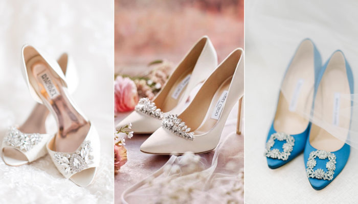 The Embellished Shoes Trend! 10 Dazzling Wedding Shoes With Beautiful Embellishment!