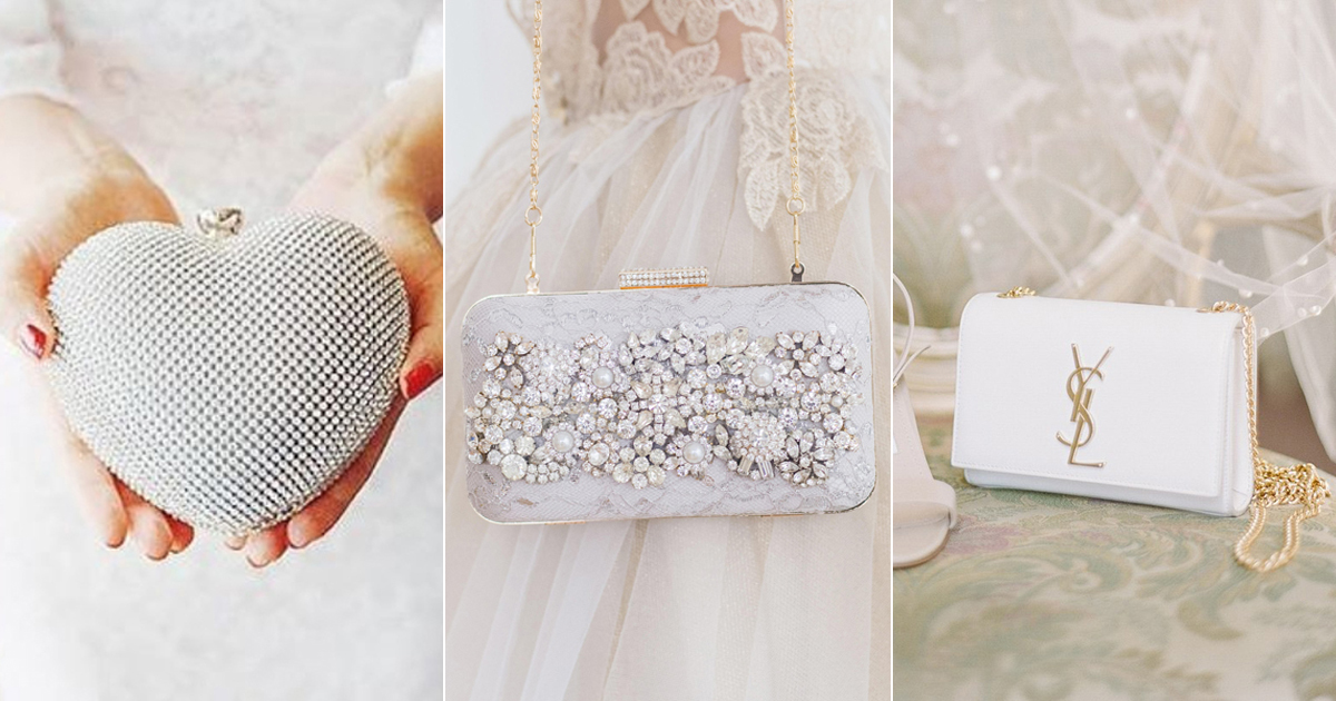 893a2d367c Beautiful Bridal Clutch Bags! 16 Chic Clutches for Your Wedding Day and  More!