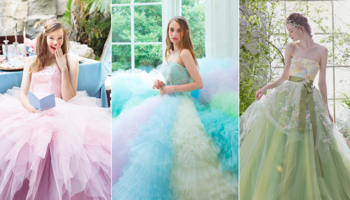 Catch The Spring Breeze! 20 Colored Wedding Dress For Spring Brides!