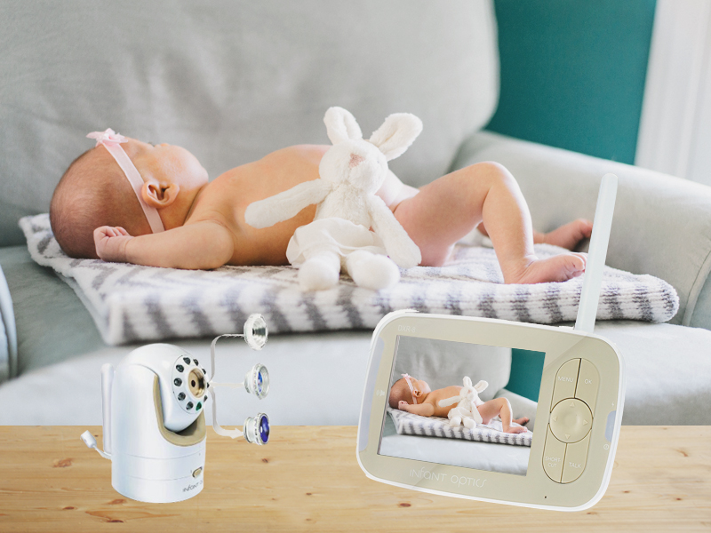 02-Infant Optics DXR-8 Video Baby Monitor