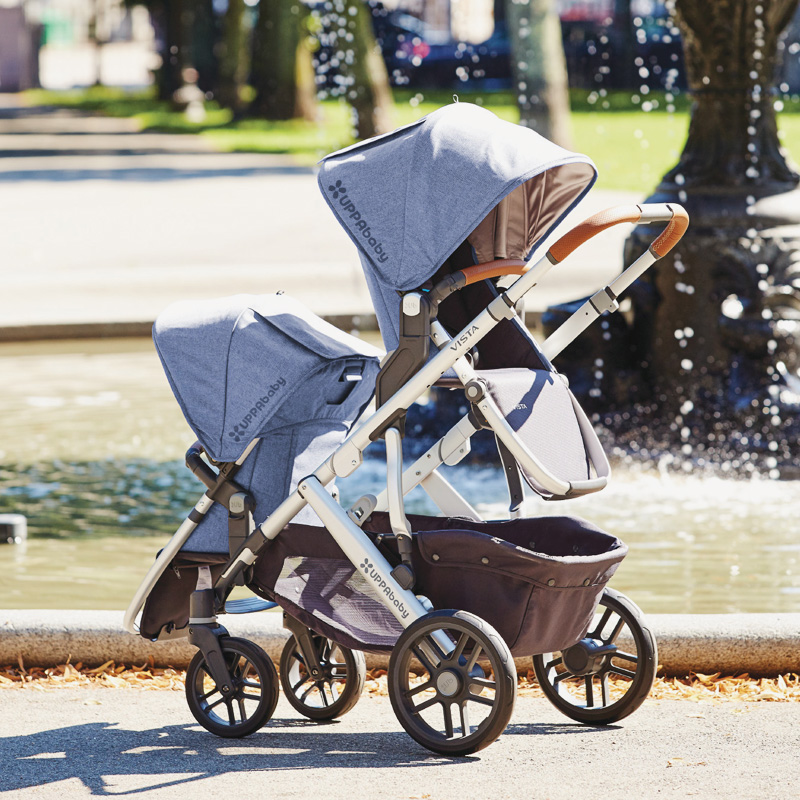 02-Uppababy Vista Convertible Stroller