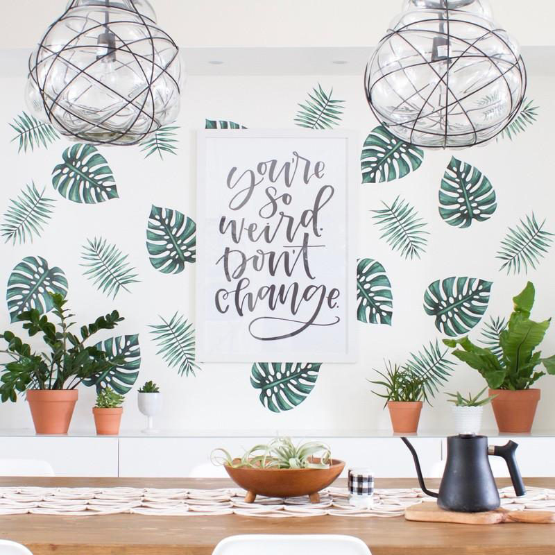 04-Palm Branches Wall Decals