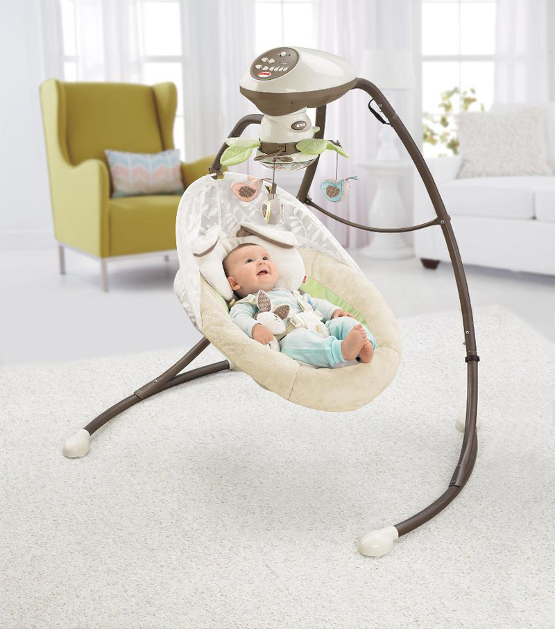 05-Fisher-Price Snugapuppy Cradle 'N Swing