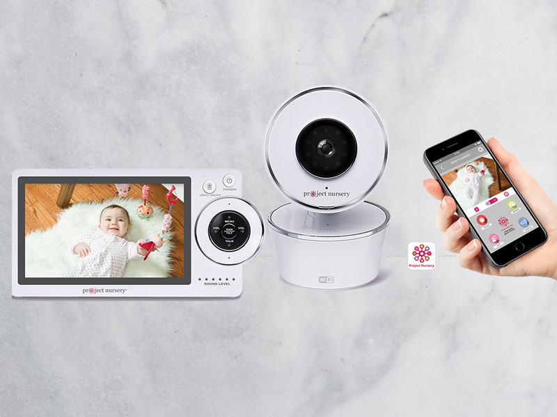 08-HD Dual Connect Wi-Fi Baby Monitor System