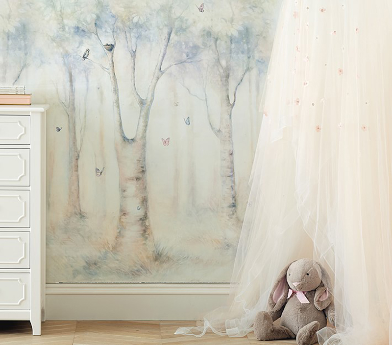 14-Monique Lhuillier Ethereal Wall Mural