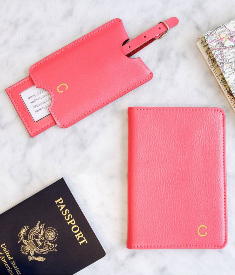 15-Monogram Passport Case & Luggage Tag