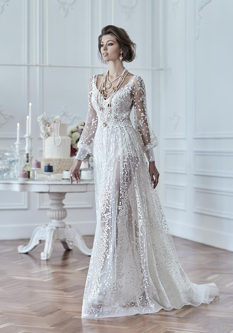 18 Vintage-Inspired Puff Sleeve Wedding Dresses That Make A Timeless ...