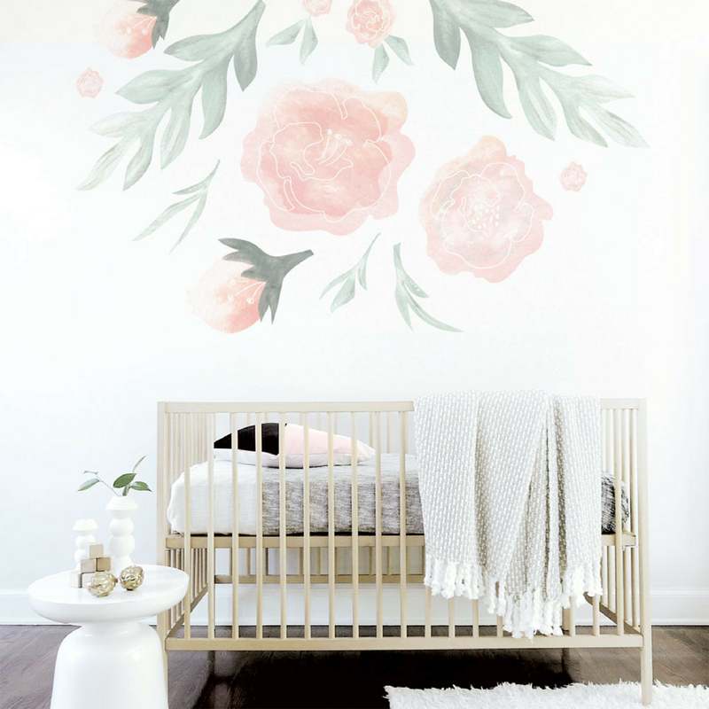 18-Large Flower Wall Decal