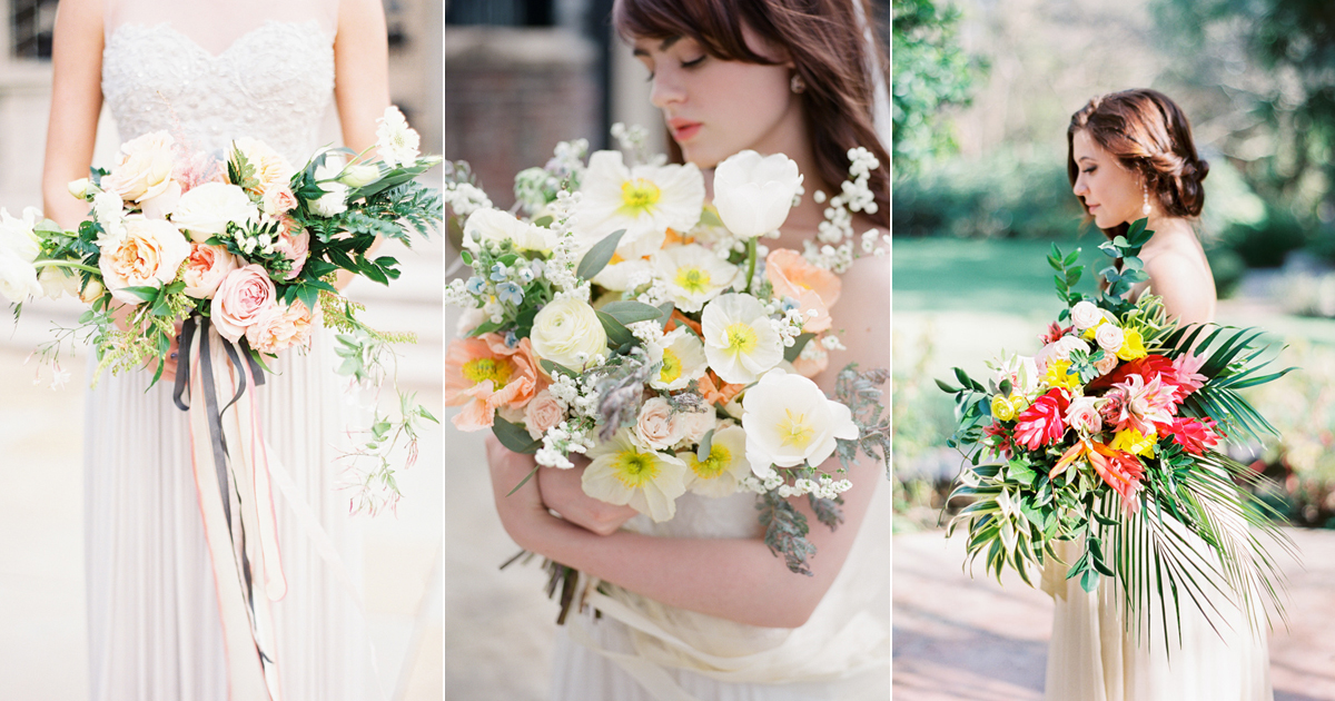 5 Beautiful Wedding Bouquet Trends For Spring Summer 2018
