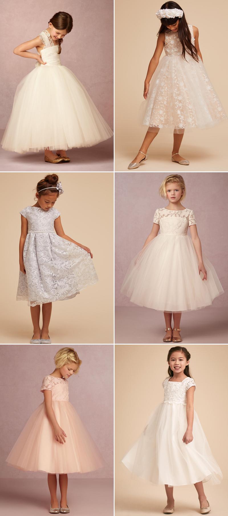 小公主的澎澎裙! 38件甜美可爱的小花童礼服