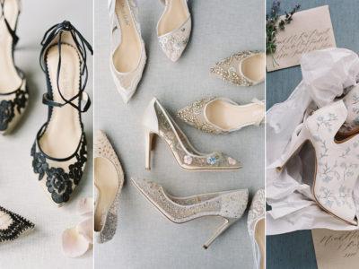 Timelessly Romantic Wedding Shoes For Elegant Brides! Bella Belle Euphora Collection!