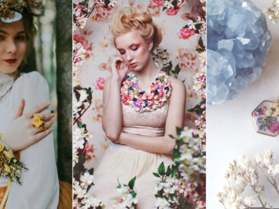 Blooming Glam! 26 Pieces of Floral Jewelry For Spring Brides!