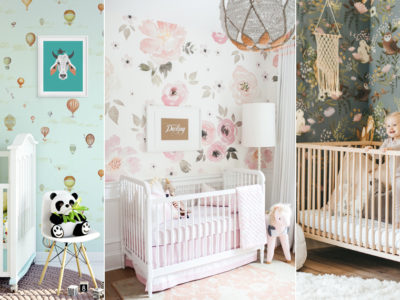Baby Nursery Wall Decor! 20 Lovely Nursery Room Wallpapers We Love!
