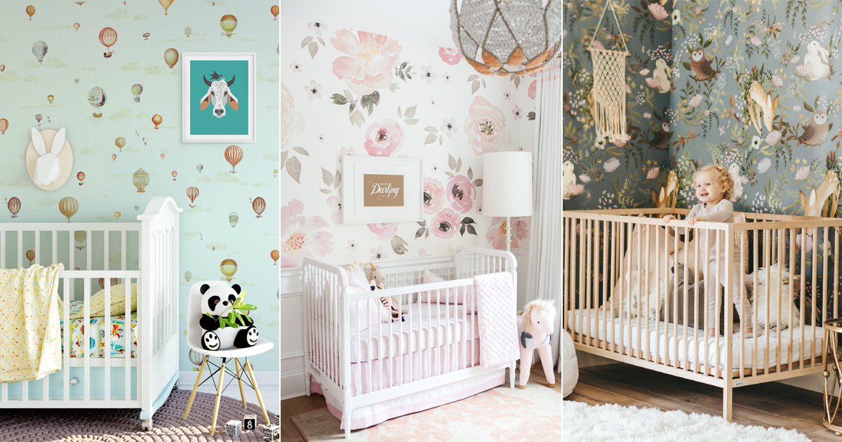 Baby Nursery Wall Decor 20 Lovely Nursery Room Wallpapers