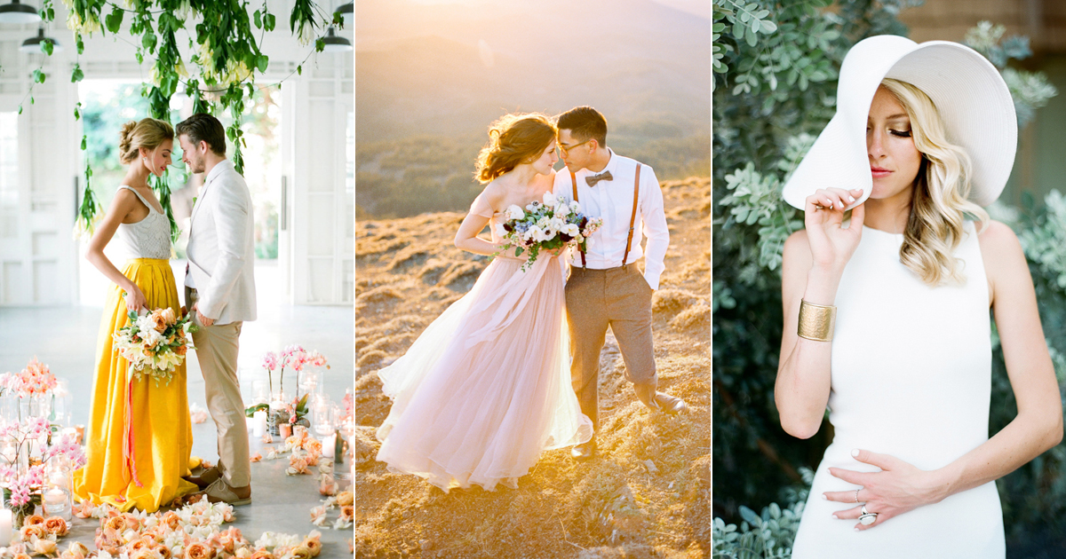 What To Wear For Engagement Photos? 2018 Spring Summer