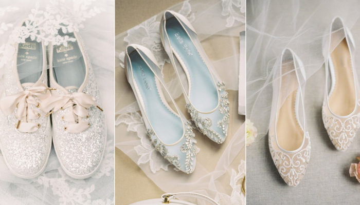 30 Pairs of Wedding Flats To Keep You Comfy & Stylish On the Big Day!