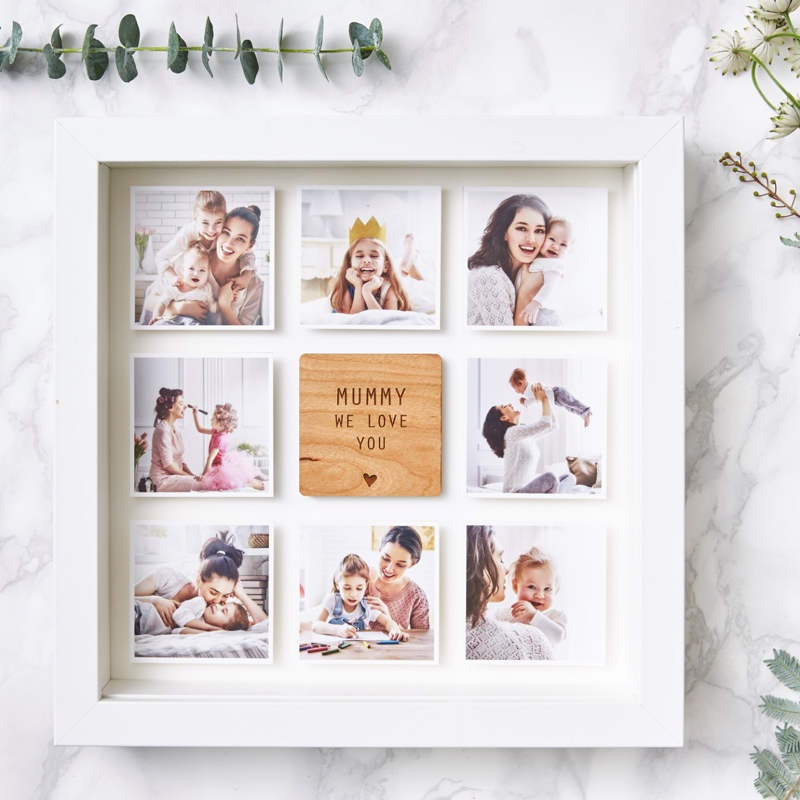 01-Personalised Framed Mother's Day Photo Print