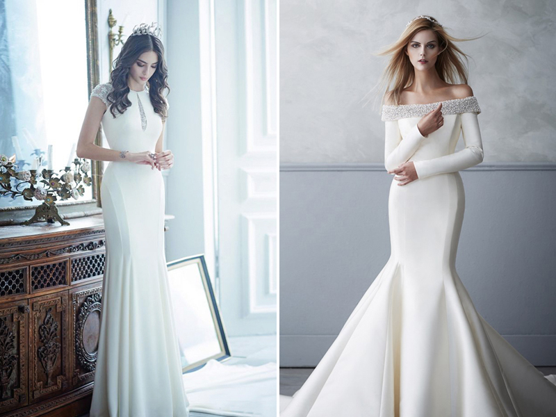 Figure Flattery: 18 Modern Chic Gowns For Hourglass Body Types ...