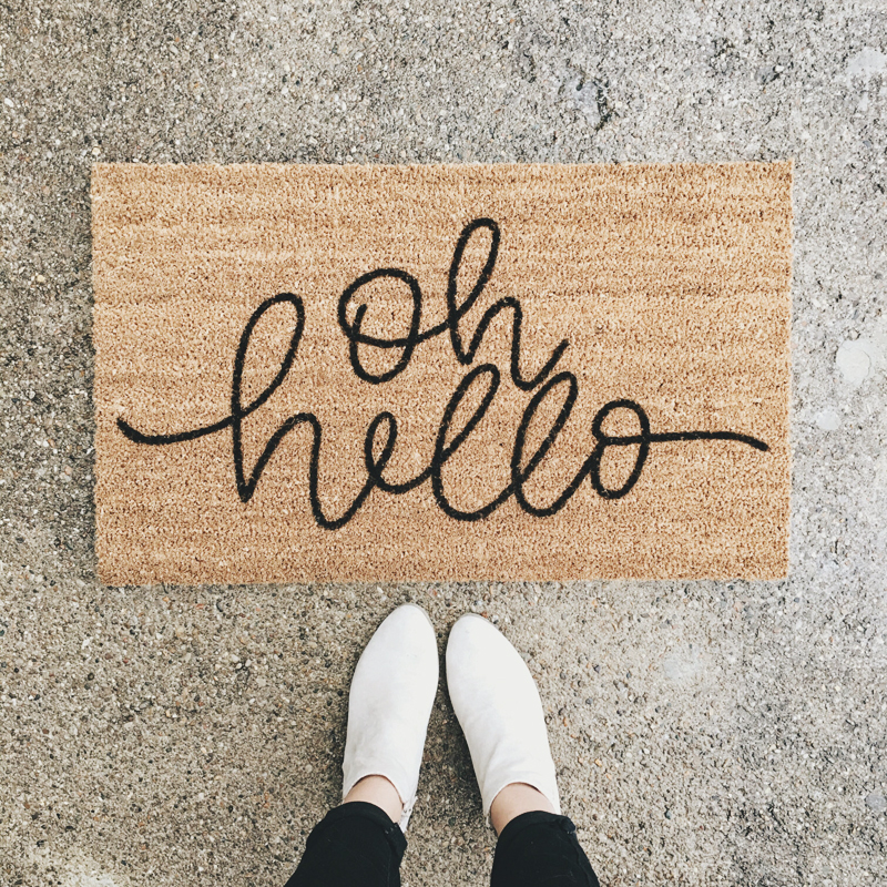 03-Hello Welcome Mat