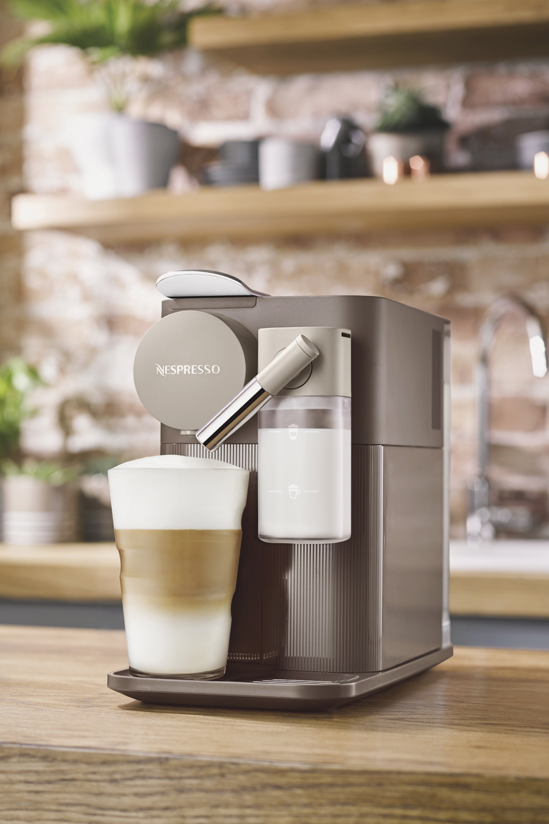 12-Nespresso Lattissima One Espresso Maker
