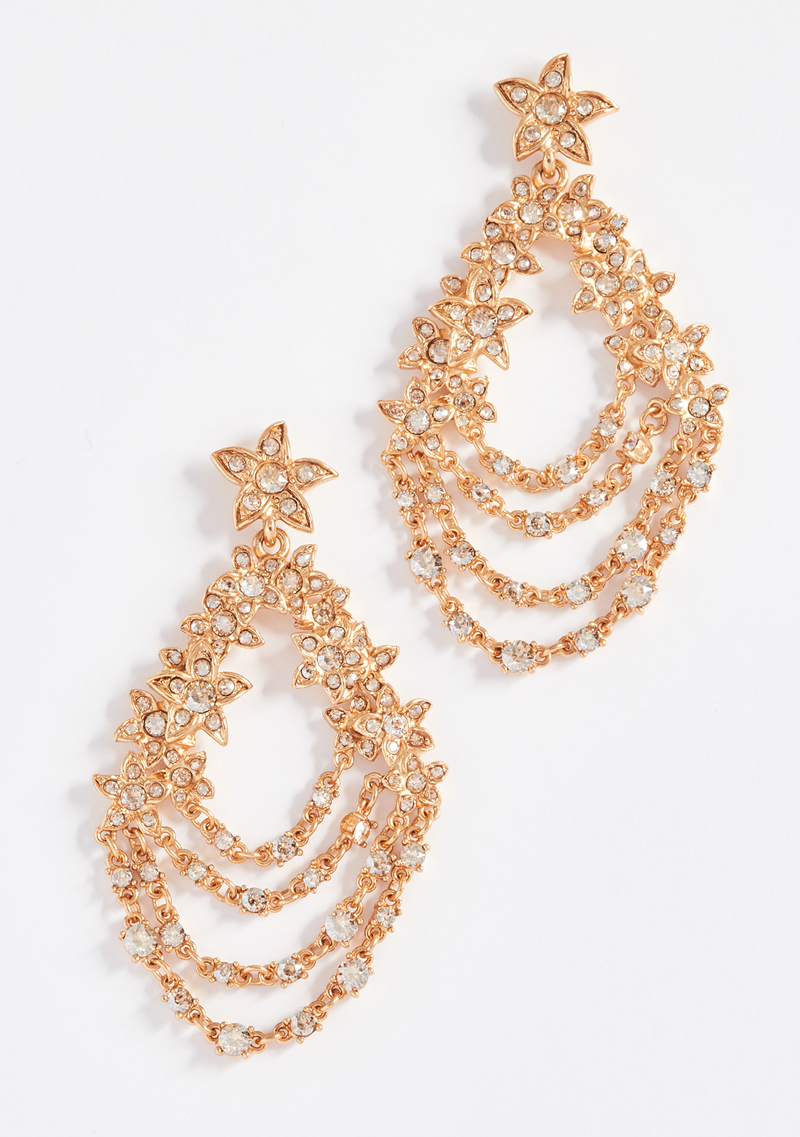 19-Star Fish Drop Earrings