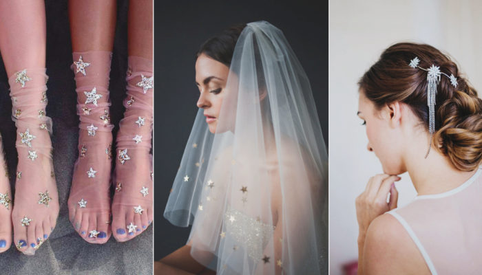 19 Celestrial Starry Accessories to Add a Cosmic Touch to Your Bridal Look!